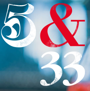 5 and 33