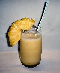 Thaise ananas smoothie