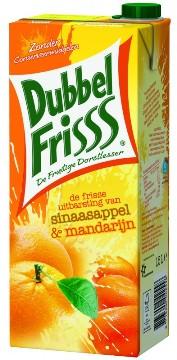 Dubbel Frisss sinaasappel manderijn