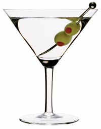 Martini cocktailglas