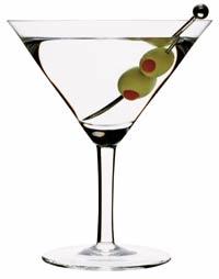 Martini cocktailglas
