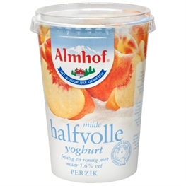 Perzikyoghurt