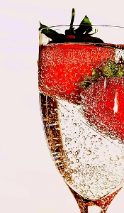Champagne Strawberry